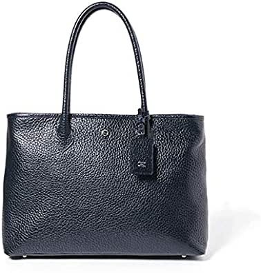 hinn(ヒン) Tote Embossed shrink メンズトートバッグ 牛革 エンボスレザー