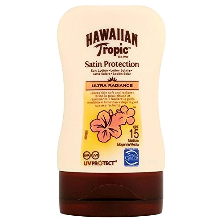 生活できるスローガンHawaiian Tropic Protective Lotion SPF15 Ultra Radiance 100ml (Pack of 6) - 南国ハワイの保護ローション15超放射輝度100ミリリットル x6 [並行輸入品]