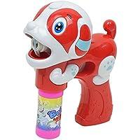 OVERMALおもちゃ子供バブル夏バブルLEDライト犬マシンアウトドア面白いおもちゃ