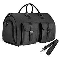 seyfocnia Simplehousware 60-Inch Heavy Duty Garment Bag for Suits.