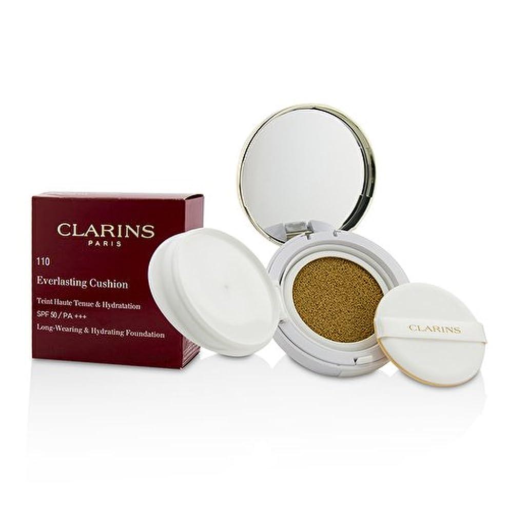 進化水銀の適応するクラランス エヴァーラスティングクッションファンデーション SPF 50# 110 Honey