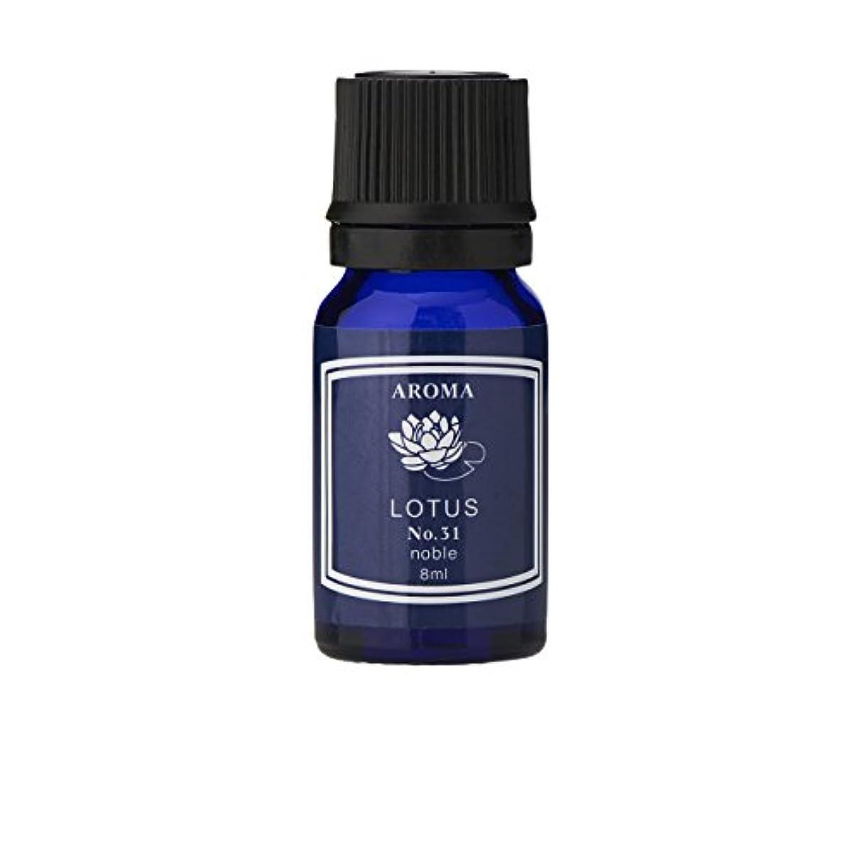 ブルーラベル アロマエッセンス8ml ロータス(アロマオイル 調合香料 芳香用)