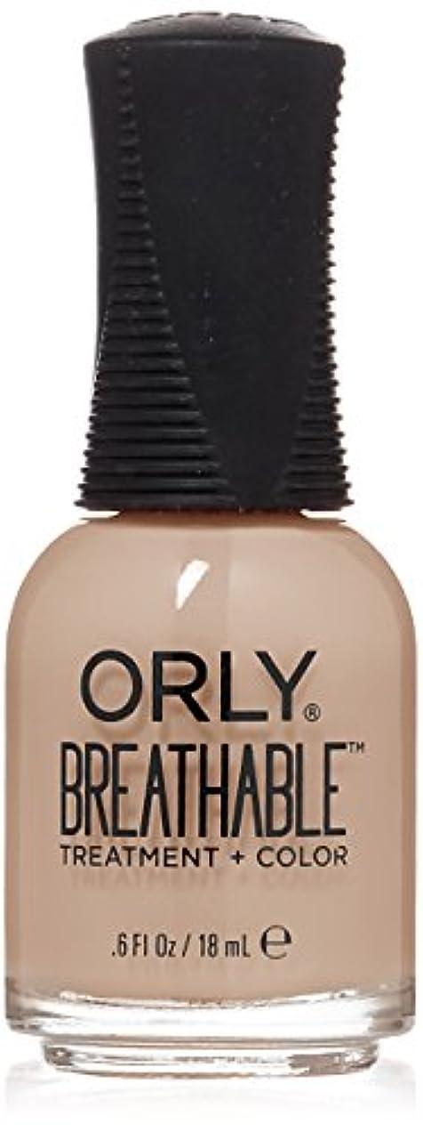 エンジン出身地大きいOrly Breathable Treatment + Color Nail Lacquer - Nourishing Nude - 0.6oz/18ml