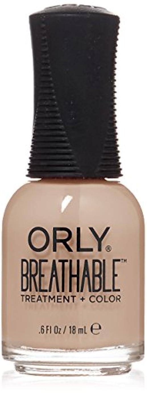 賛美歌メカニック暗殺Orly Breathable Treatment + Color Nail Lacquer - Nourishing Nude - 0.6oz/18ml