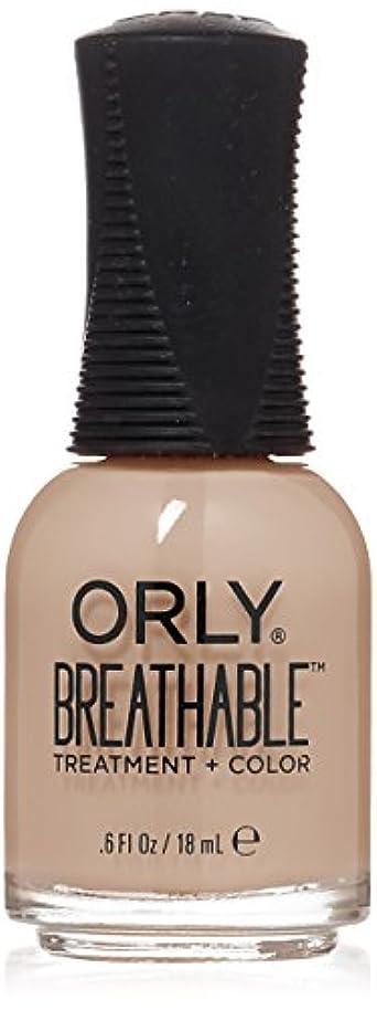 数字健全時代遅れOrly Breathable Treatment + Color Nail Lacquer - Nourishing Nude - 0.6oz/18ml