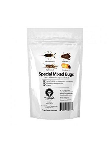 (昆虫食)食べられる昆虫シリーズ スペシャルミックスバグ 32g 塩味 [並行輸入品]
