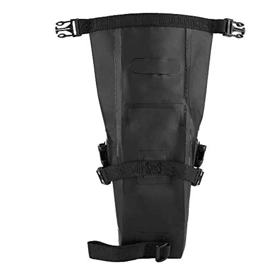 開梱クローンフィールド自転車バッグ 自転車シートバッグ PVC製 耐久性 サドルバッグ 調整可能なストラップ 収納ポーチ 自転車アクセサリー サイクリング用