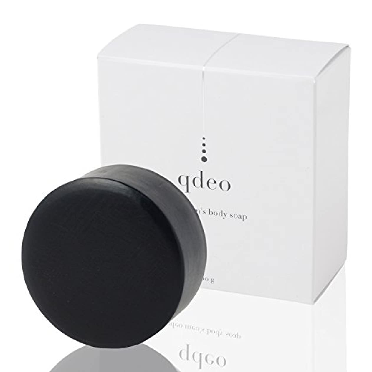 比率漂流区クデオ メンズ ボディソープ 100g 石鹸 固形 体臭 ワキガ 足の臭い 加齢臭 デリケートゾーン