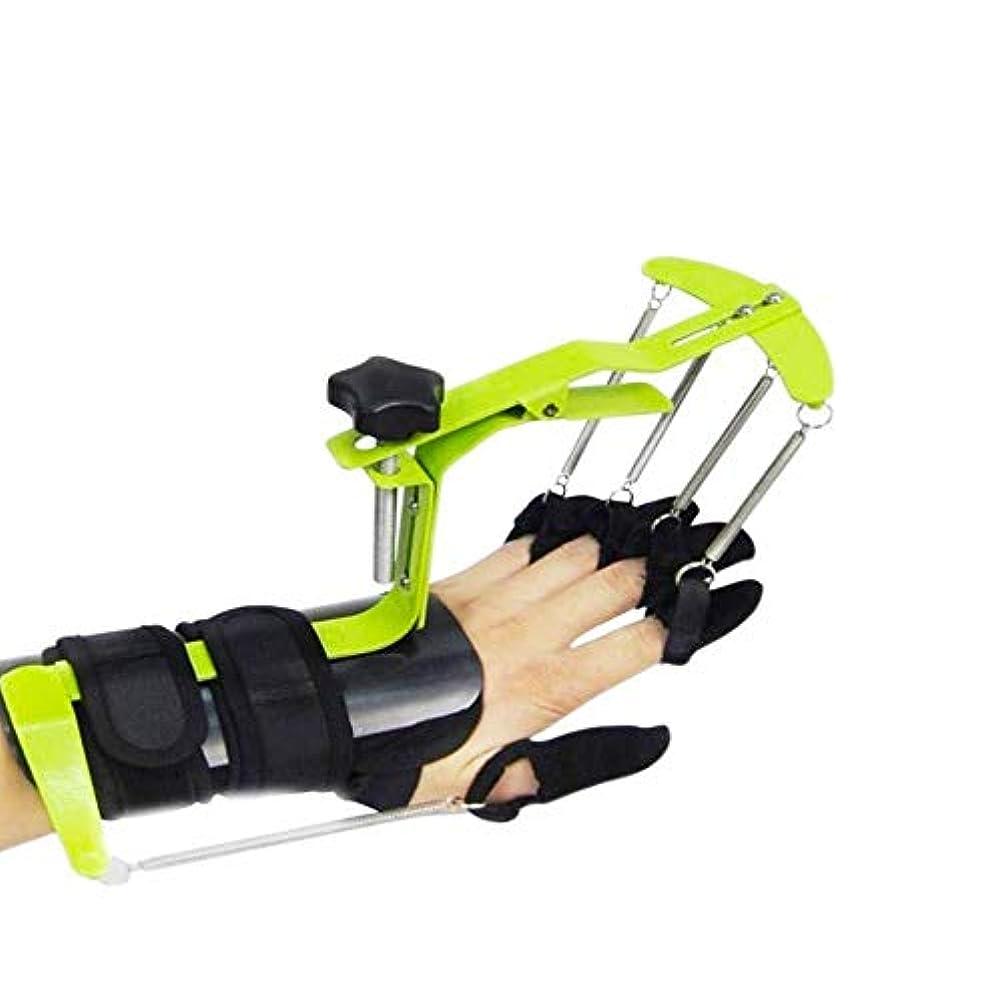 土地シロクマノート指の怪我のサポート、手首装具のサポート、矯正姿勢矯正器、手の延長リハビリテーション訓練