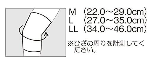 エルモ 医療サポーター 厚手 ひざ用 Mサイズ 1枚入