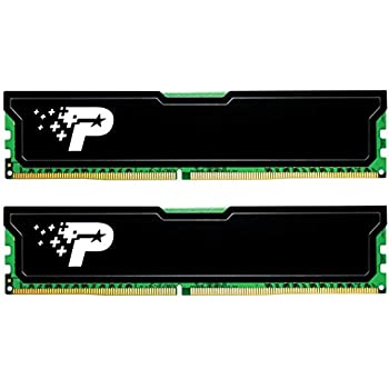 Patriot デスクトップ用メモリ DDR3 1600MHz PC3-12800 16GB (8GBx2枚組) CL11 ヒートシンク付 - PSD316G1600KH