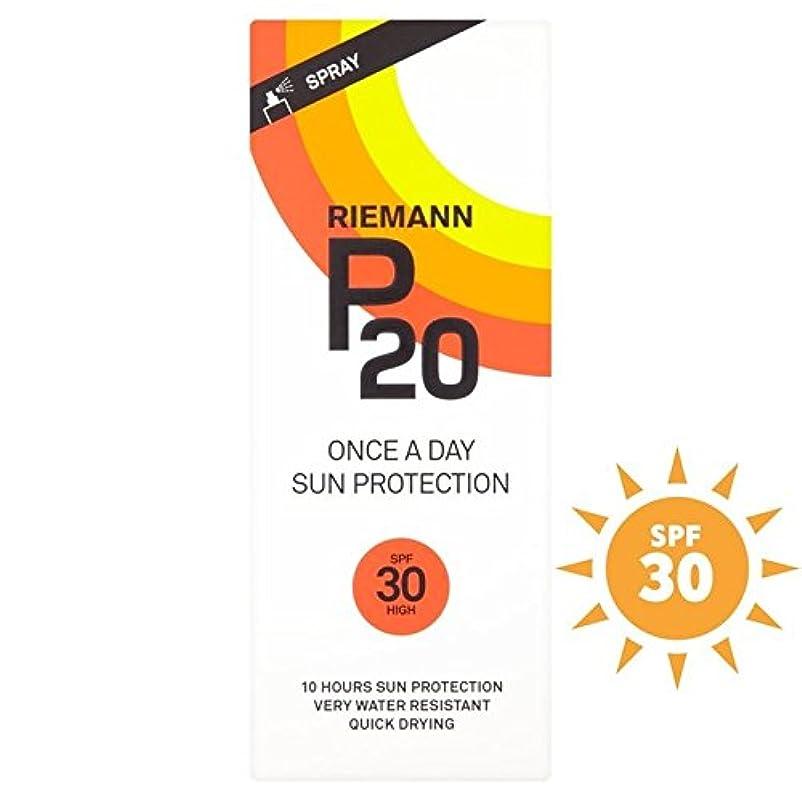 破滅的なトリクル微弱Riemann P20 SPF30 1 Day/10 Hour Protection 200ml (Pack of 6) - リーマン20 30 1日/ 10時間の保護200ミリリットル x6 [並行輸入品]