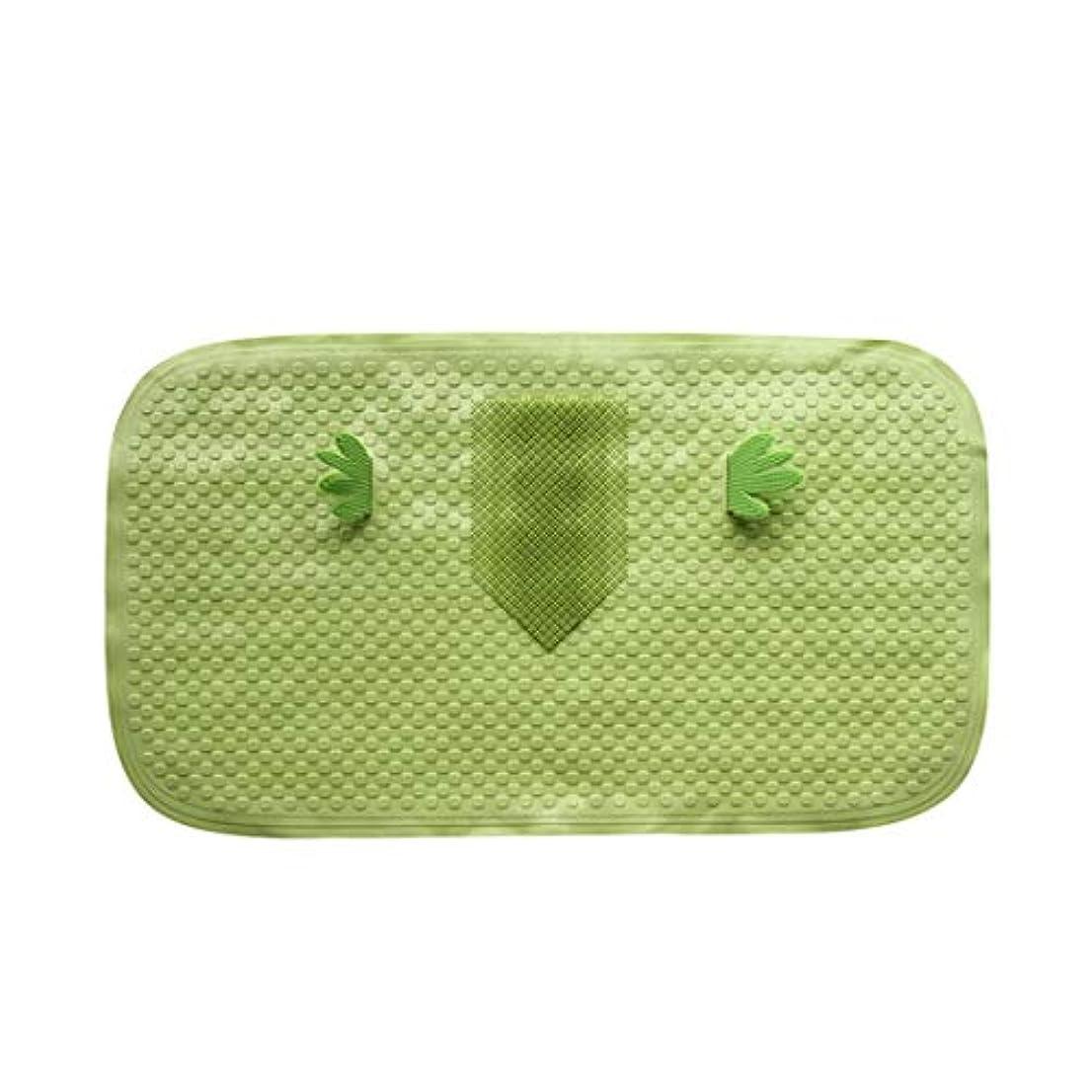 グローブパーク魅惑するSwiftgood バスシャワー浴槽マットスクエア、洗濯機で洗えます、抗菌、バスルームマット付き排水