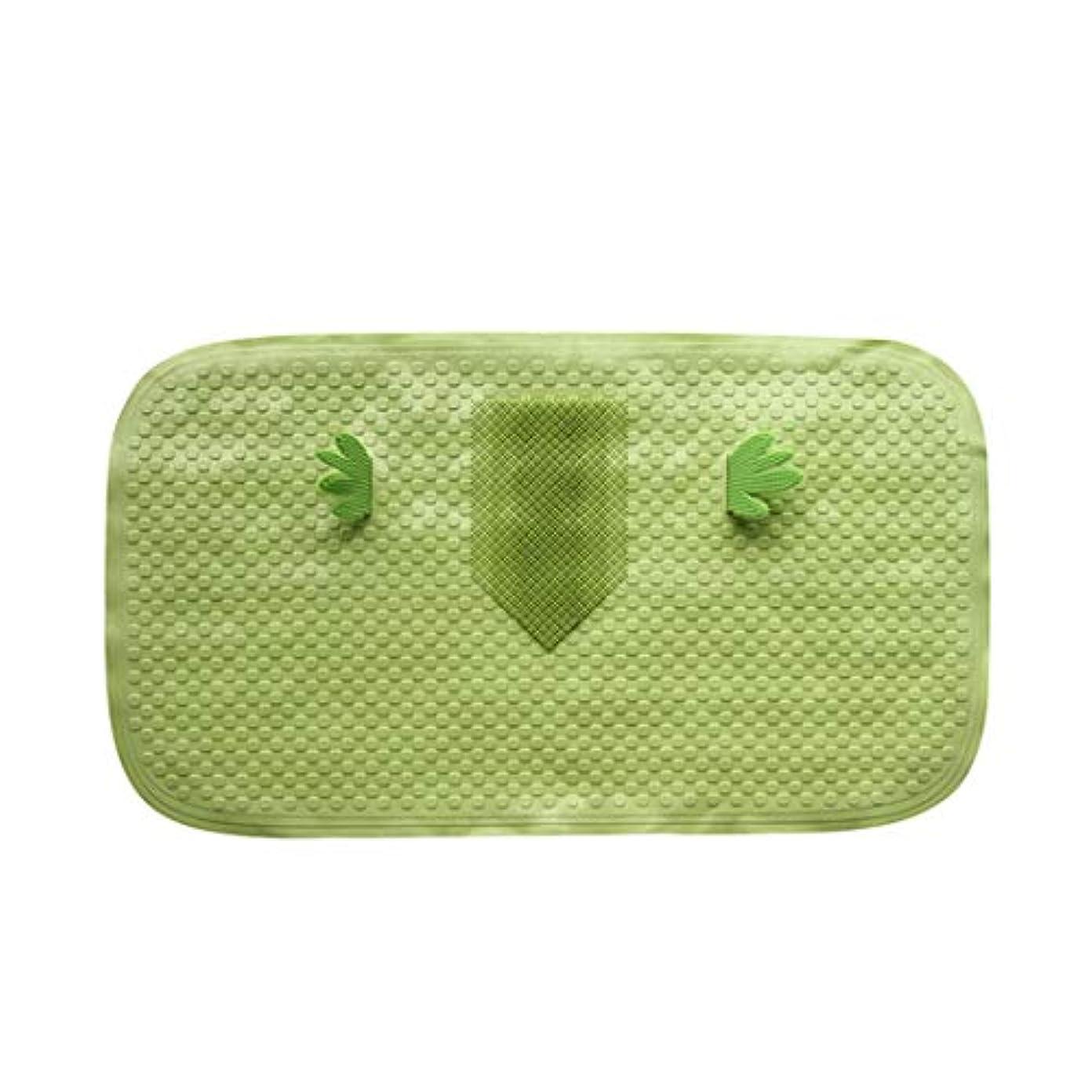 抑圧外出十分Swiftgood バスシャワー浴槽マットスクエア、洗濯機で洗えます、抗菌、バスルームマット付き排水