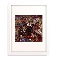 マックス・ベックマン 「Im Auto. 1914.」 額装アート作品