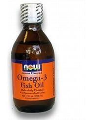 [海外直送品] ナウフーズ  - Omega-3 風味を付けられる魚オイルレモン - 7ポンド