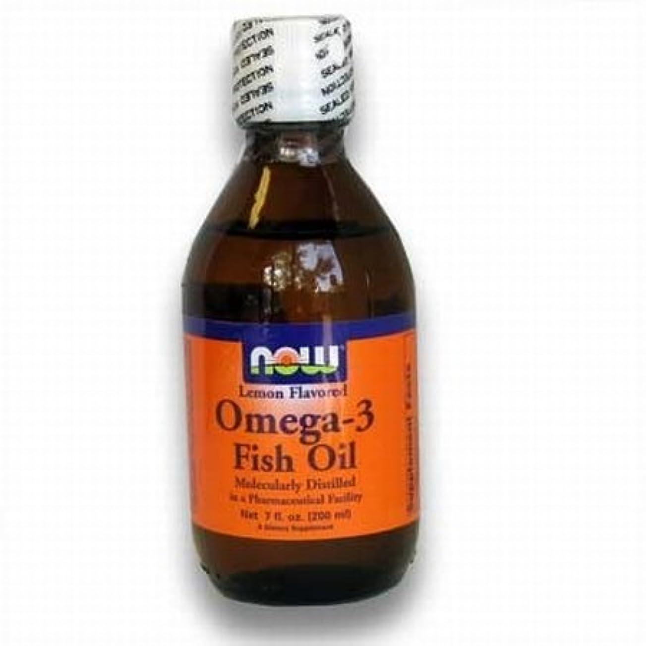逆パースブラックボロウ元の[海外直送品] ナウフーズ  - Omega-3 風味を付けられる魚オイルレモン - 7ポンド