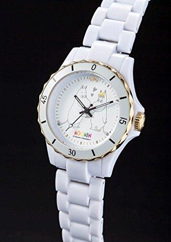 ムーミン&フローレン 70thAnniversary ハイブリッドセラミック腕時計