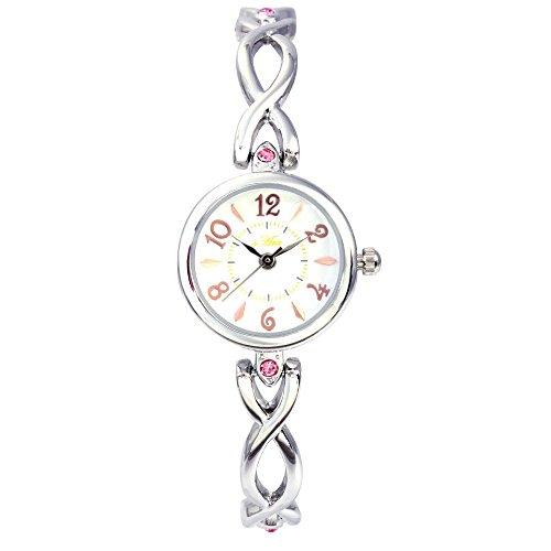 [ベルセポーネ] Velsepone セーヌ 日本製ムーブメント 腕時計 シルバー×ホワイト vw0003-swh