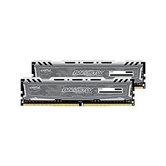 CFD販売 デスクトップPC用メモリ PC4-19200(DDR4-2400) 8GBx2枚 288pin (無期限保証)(Ballistix by Micron) W4U2400BMS-8G