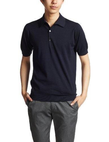 [ジョンスメドレー] ポロシャツ ADRIAN NAVY UK L-(日本サイズL相当)