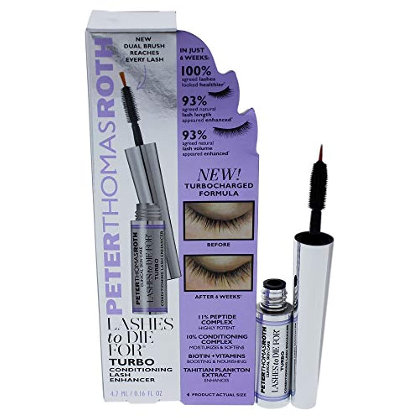 ワードローブ年必要性Lashes To Die for Turbo Conditioning Lash Enhancer