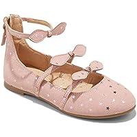 Masked Brand Girls' Jaydeen Ballet Flats (Pink, 3)