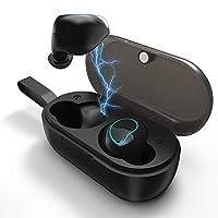 XLSER Mini Headphone Touch Wireless Stereo Headphones with Microphone Charging Case Waterproof Sports Earplugs