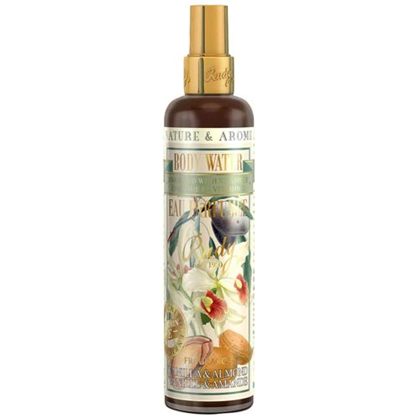 失礼な証明自動車ルディ(Rudy) RUDY Nature&Arome Apothecary ネイチャーアロマ アポセカリー Body Water ボディウォーター(ボディミスト) Vanilla & Almond バニラ&アーモンド