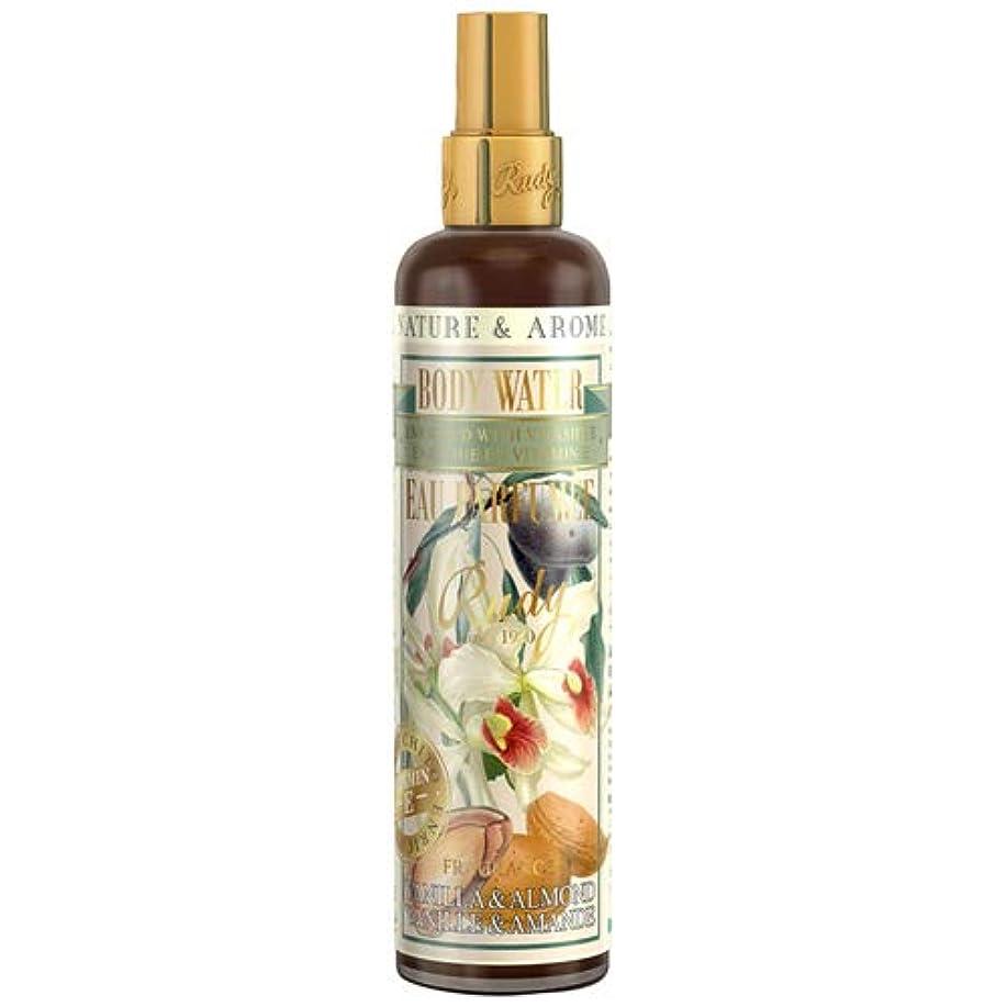 バッチ宮殿鷹ルディ(Rudy) RUDY Nature&Arome Apothecary ネイチャーアロマ アポセカリー Body Water ボディウォーター(ボディミスト) Vanilla & Almond バニラ&アーモンド