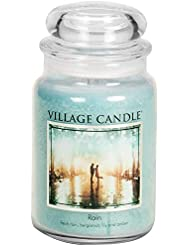 Village Candle 106326811 Candle Rain Blue by Village Candle