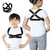 MTG(エムティージー) Style BX Kids(スタイル ビーエックス キッズ) 子供 用 こども 姿勢補正ベルト SSサイズ【身長120~135cm / 胸囲60~66cm】 猫背 背筋 男女兼用 YS-AE03SS ブラック SS