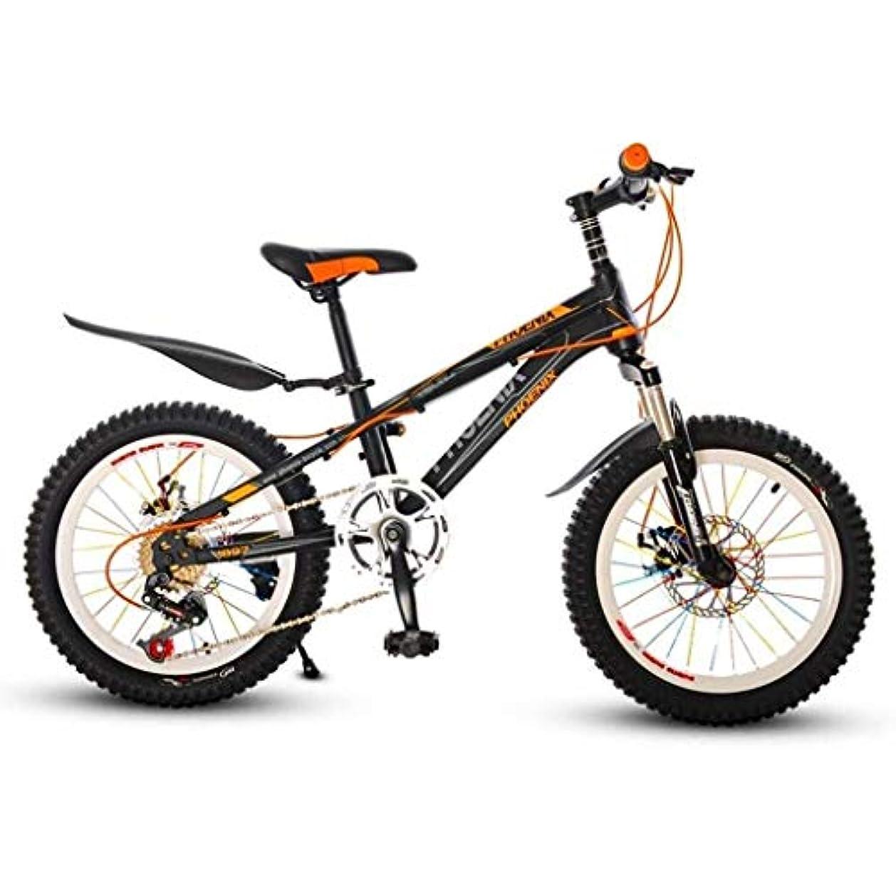 既に専門用語増幅20インチ子供のマウンテンバイクの衝撃吸収速度マウンテン屋外ボーイ中学生の自転車 (Size : 18inch)