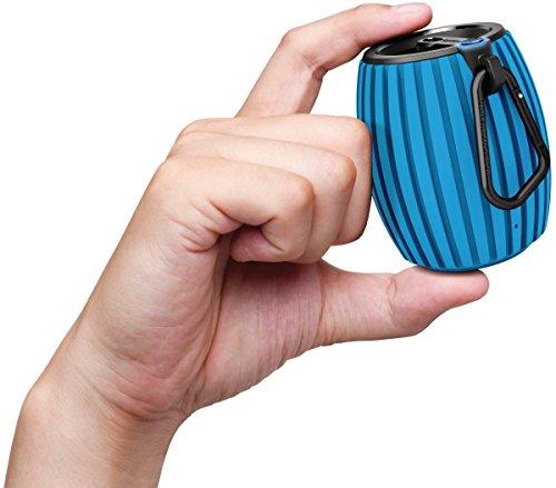 PHILIPS サウンドシューター Bluetoothスピーカー ワイヤレス/ポータブル/カラビナフック付 ブルー SBT30BLE 【国内正規品】