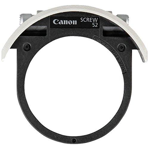 Canon ドロップインスクリューフィルターホルダー 52mm