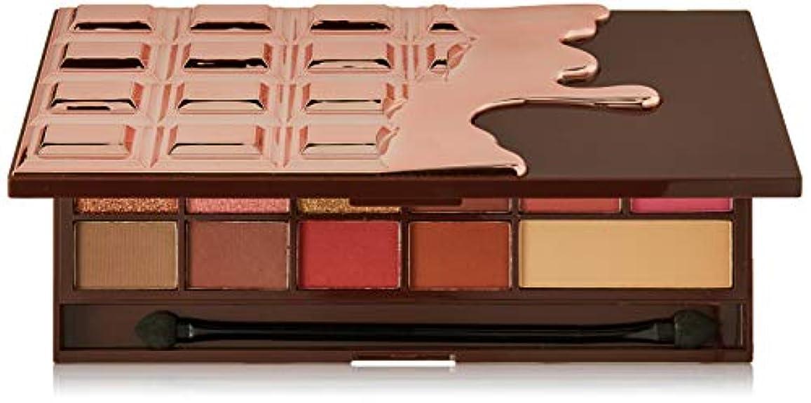 参加者バルコニー友情メイクアップレボリューション アイラブメイクアップ #Chocolate Rose Gold 16色アイシャドウパレット