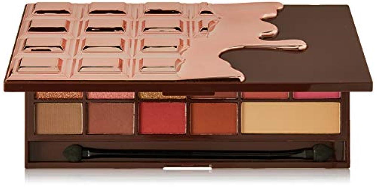 体塗抹キャメルメイクアップレボリューション アイラブメイクアップ #Chocolate Rose Gold 16色アイシャドウパレット