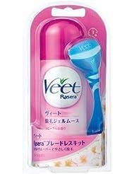 【Veet】ヴィート ラゼラ ブレートレスキット フローラル (除毛ムース145g) ×5個セット
