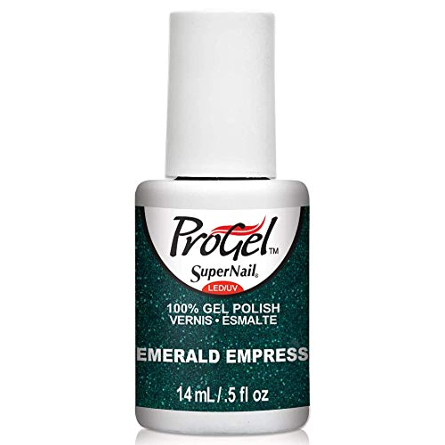 会員ペフ刃SuperNail ProGel Gel Polish - Emerald Empress - 0.5oz/14ml