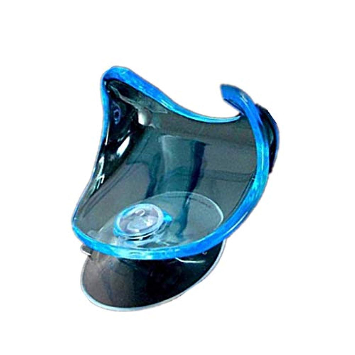 軸カタログエミュレートするハンギングラッククリアストレージシェルフの浴室の吸盤サクションカップカミソリホルダー