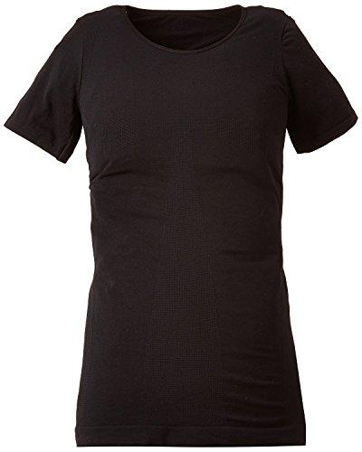 メンズ矯正下着TEKKIN Tシャツ ブラック (LLサイズ)