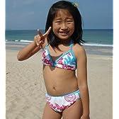 La-2 ラドゥ キッズガールズ三角ビキニ水着 GIRLS BIKINI No.92095 /ラドゥ キッズ水着・ラッシュガード・サーフ用品