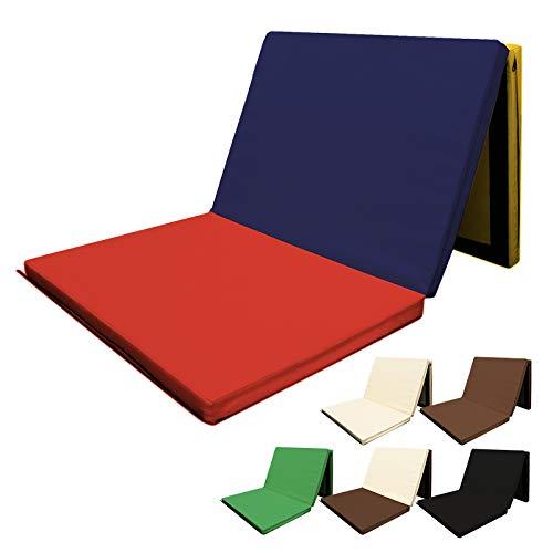 RIORES (リオレス) スポーツマット 折りたたみ式 [ 180x80x厚さ5cm ] エクササイズマット 体操マット 連結可能 (カラフル)