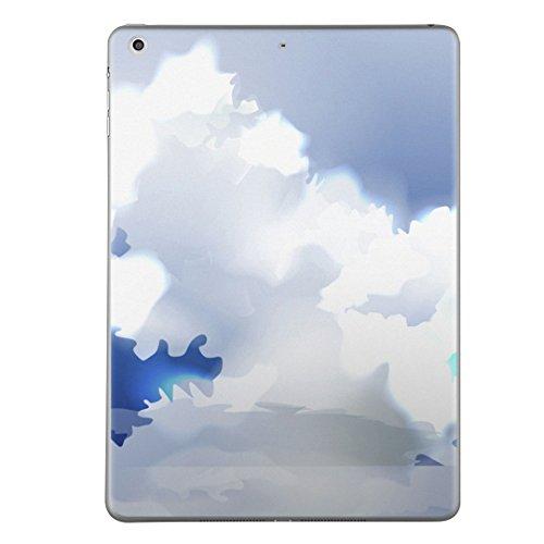 第5世代 iPad iPad5 2017年モデル スキンシール apple アップル アイパッド A1822 A1823 タブレット tablet シール ステッカー ケース 保護シール 背面 人気 単品 おしゃれ その他 雲 太陽 001403