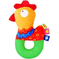 aisikasi Baby RattlesおもちゃChick Rattles柔らかい布手Ringingおもちゃ0 – 36ヶ月の