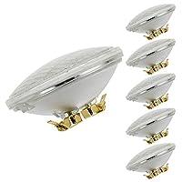 LEDwholesalers防水par3610W LED Flood Light Bulb with g53ベース12–24V AC / DC etl-listed6パック、暖かいホワイト3000K、1533年wwx6
