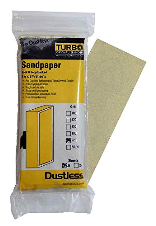 無塵テクノロジーズ54301 220グリット紙やすり - 5パック