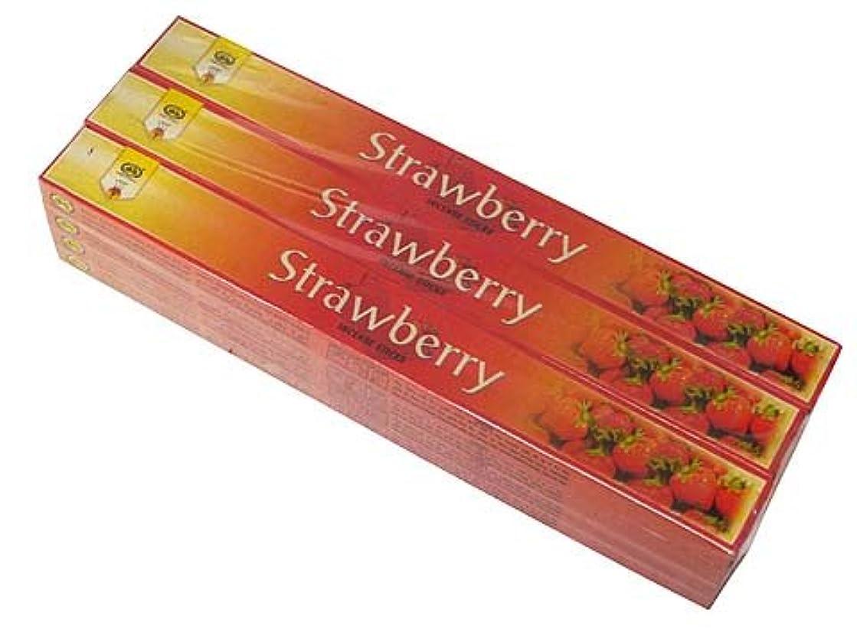 大いに瞑想肩をすくめるCYCLE(サイクル) ストロベリー香 スティック STRAWBERRY 12箱セット