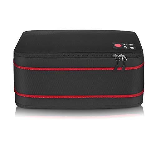 旅行 圧縮バッグ 最新版 ファスナー ジッパータブ付き 超大容量 50%容量...