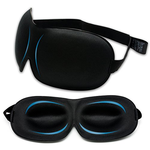 SUPTEMPO 安眠アイマスク 3D立体型 快眠グッズ 柔らかいシルク質感...